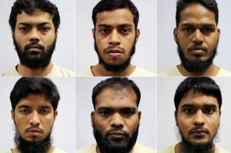 Six Bangladeshis face terrorism financing charge in Singapore