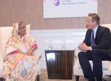 Leaving EU won't be a wise decision, Hasina's advice to Cameron